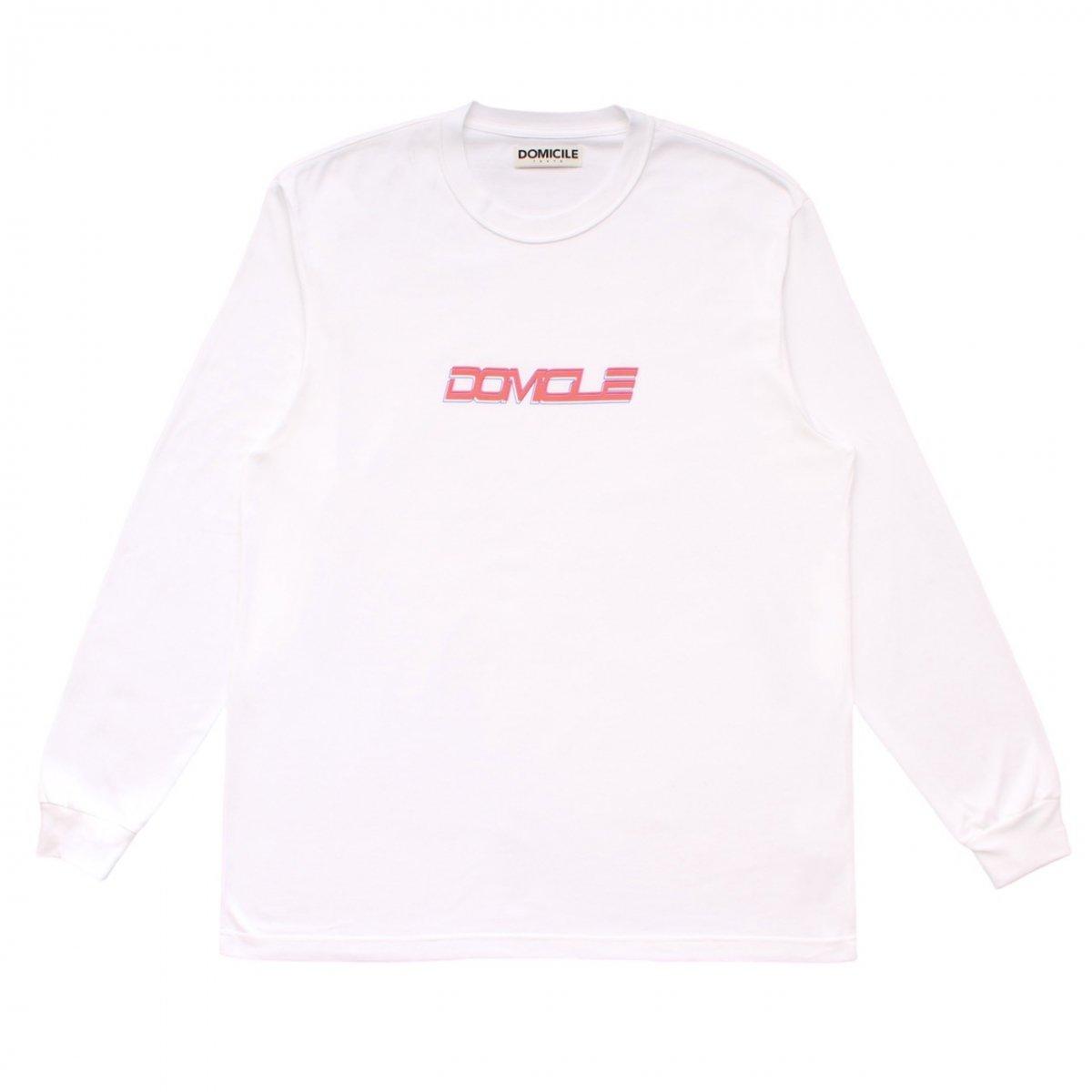 DOMICILE2020 L/S TEE【WHITE】
