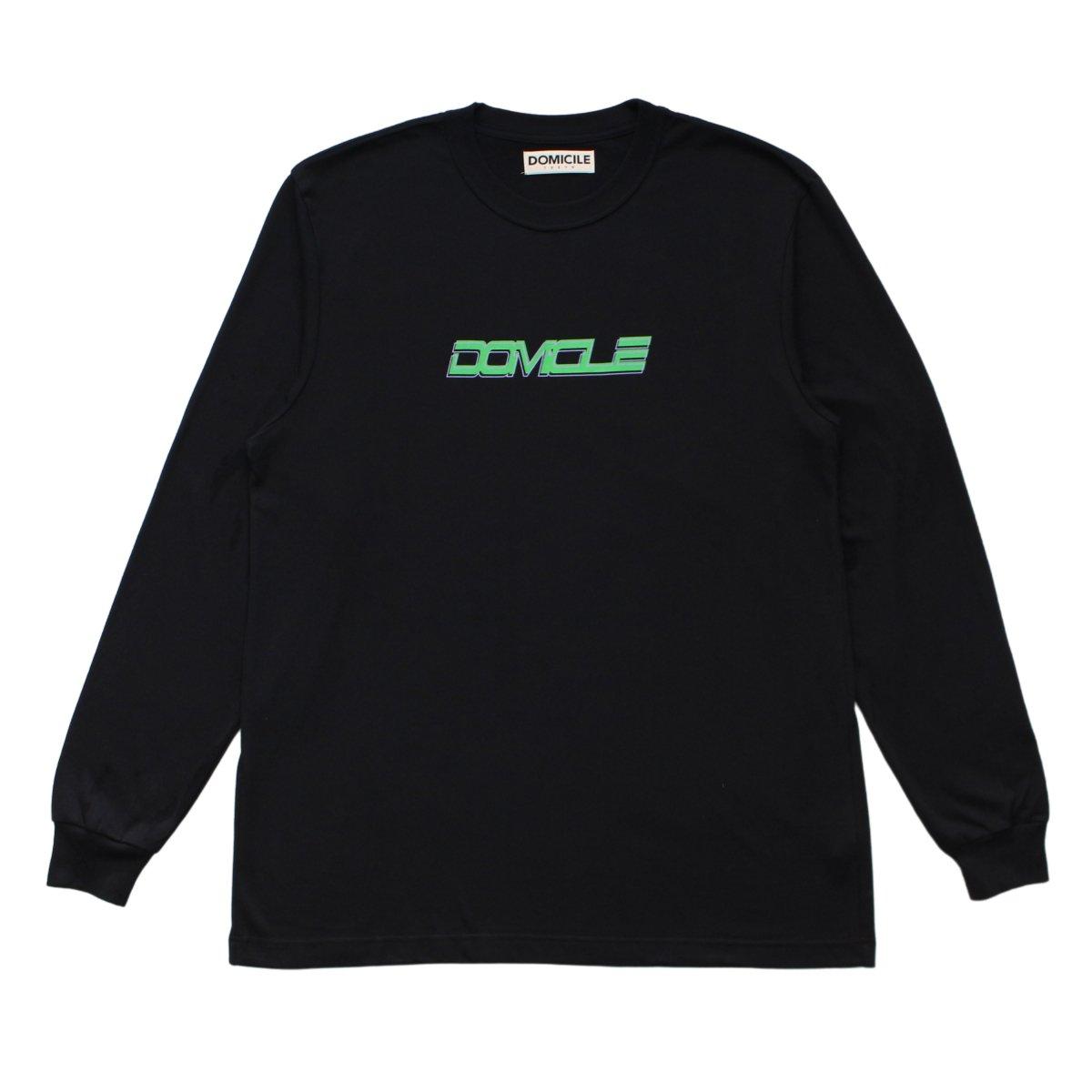 DOMICILE2020 L/S TEE【BLACK】