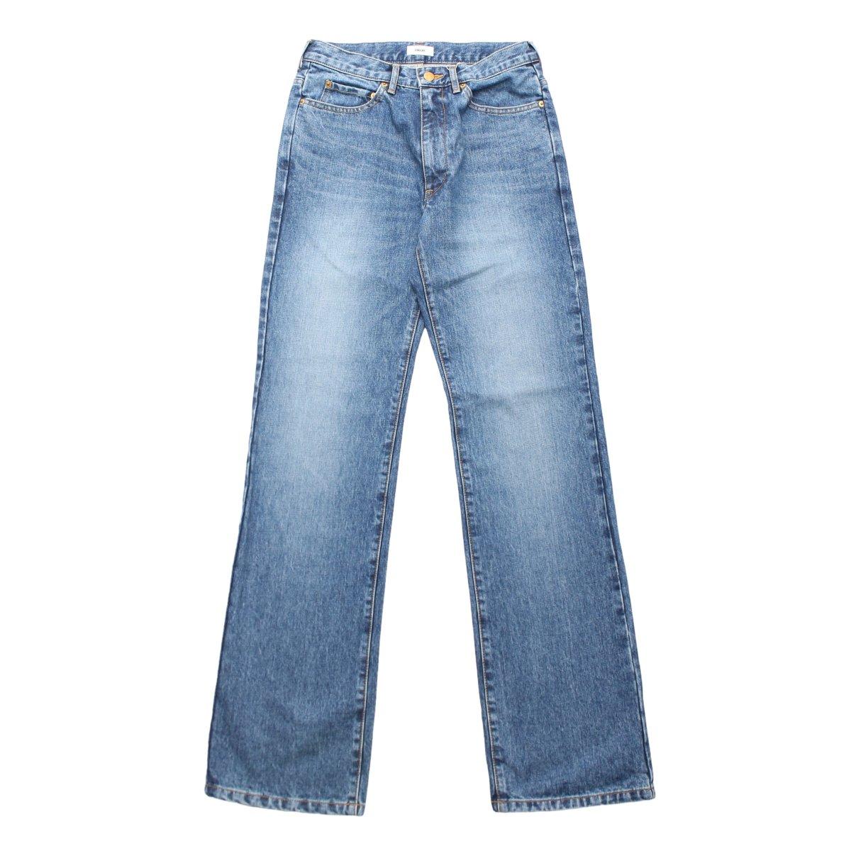 5P Flare Denim Pants