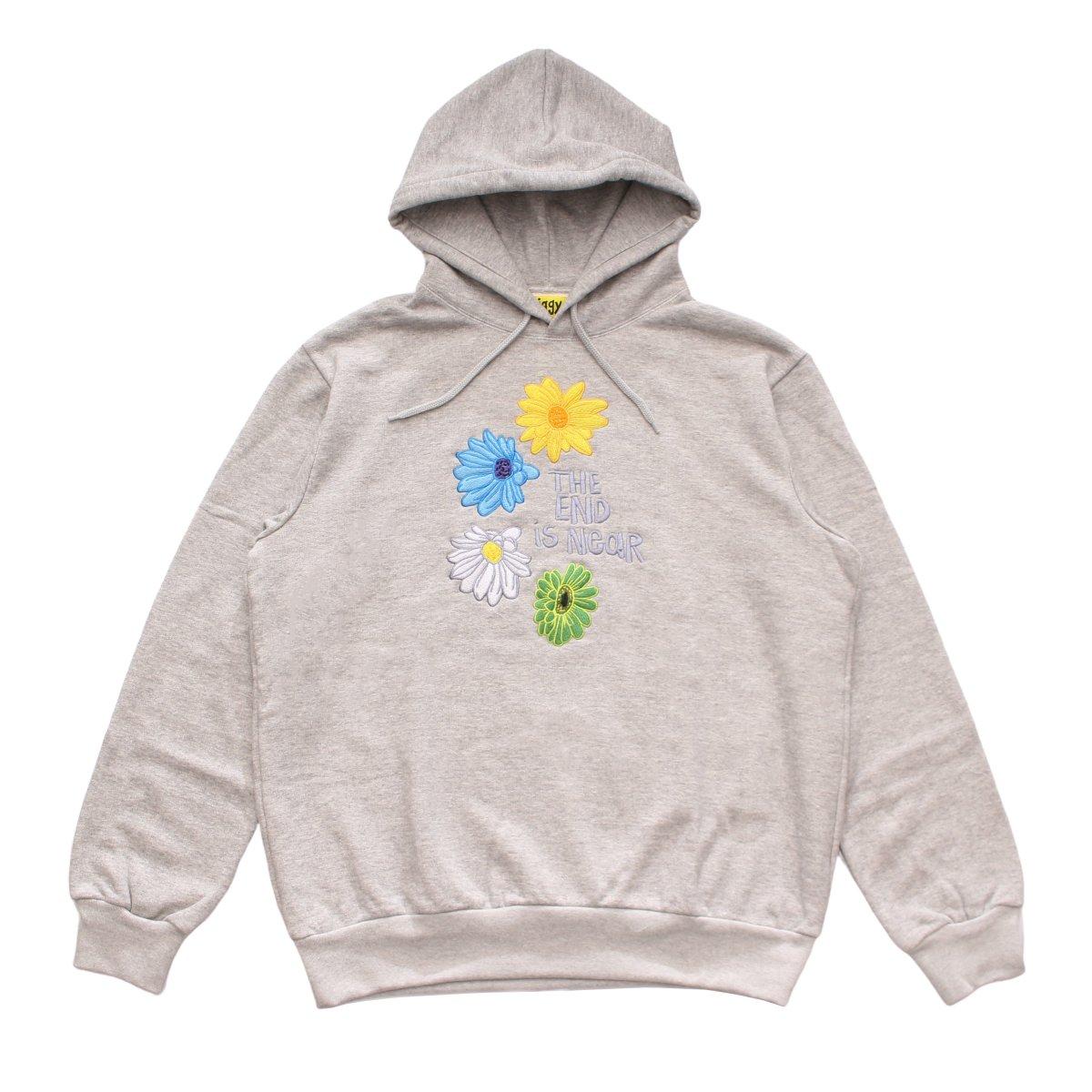 Flower Hoodie【GRAY】