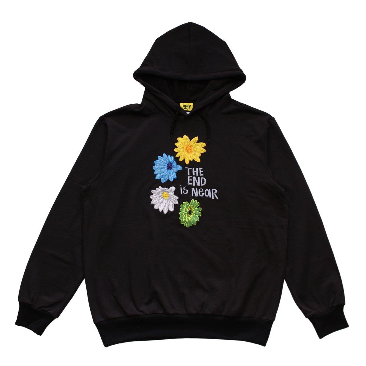 Flower Hoodie【BLACK】