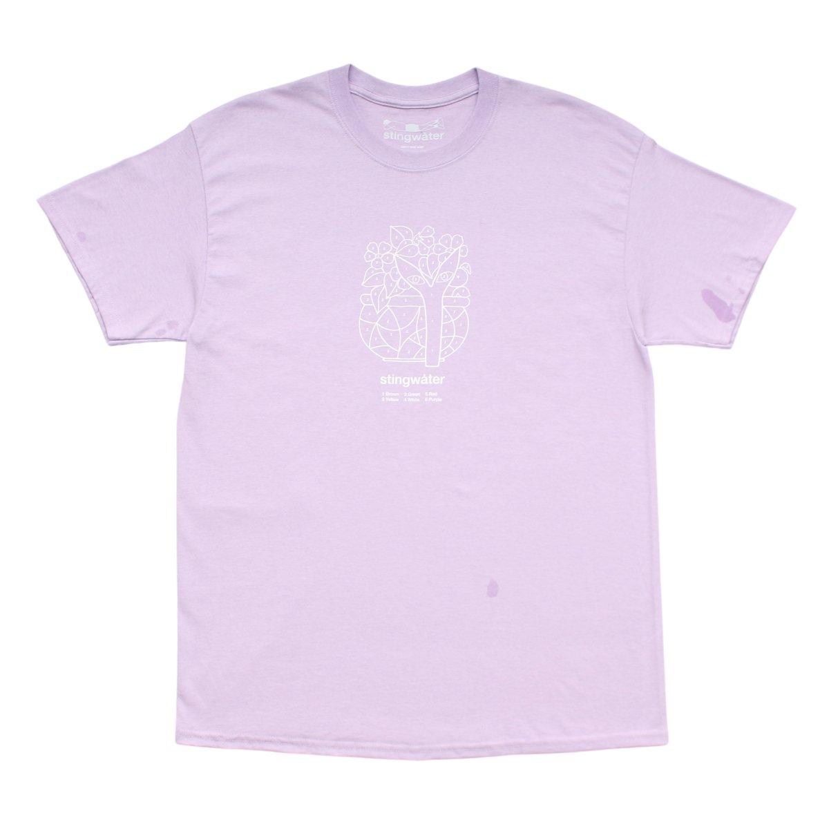 Aya Color By Number T Shirt【LAVENDER】