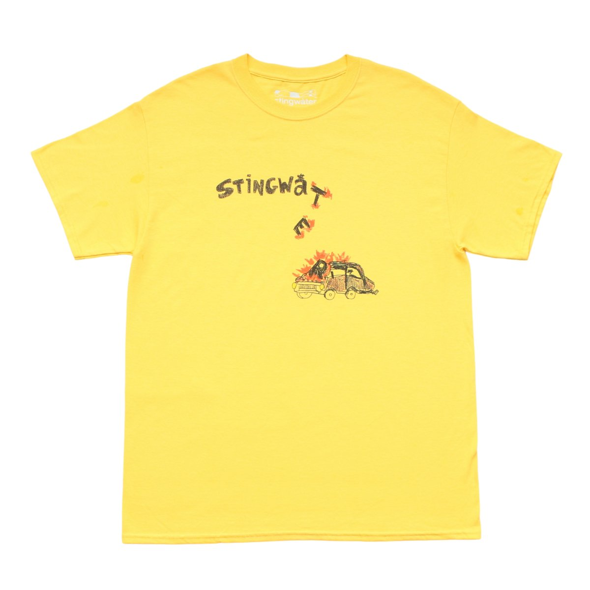 Self-Driving Car T Shirt【YELLOW】