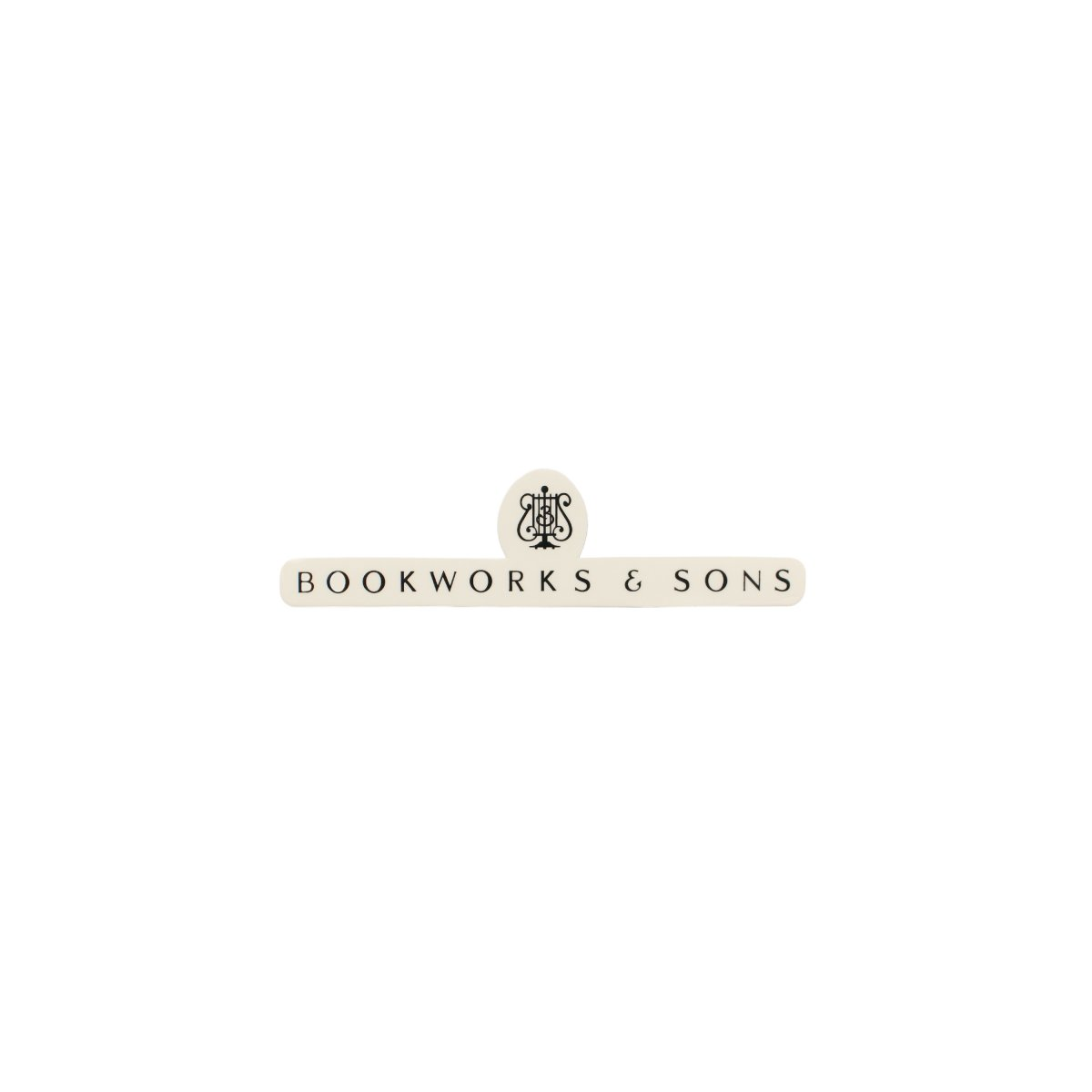 Bookworks and Sons Sticker