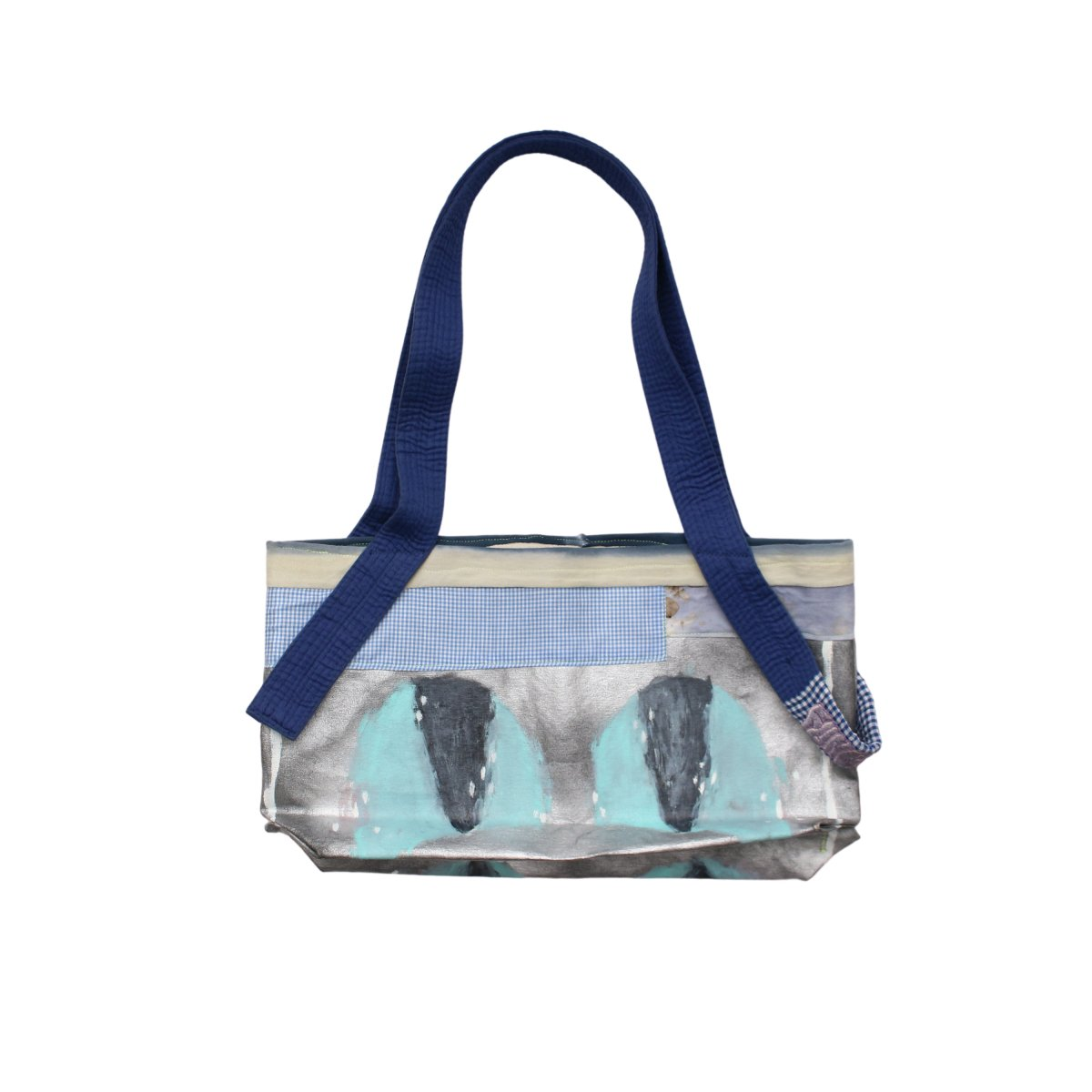 Aggregate Eyes shoulder tote【BLUE】