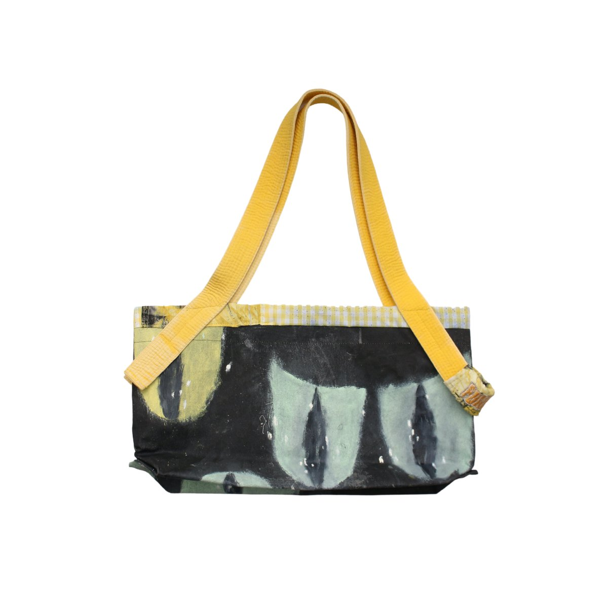 Aggregate Eyes shoulder tote【YELLOW】