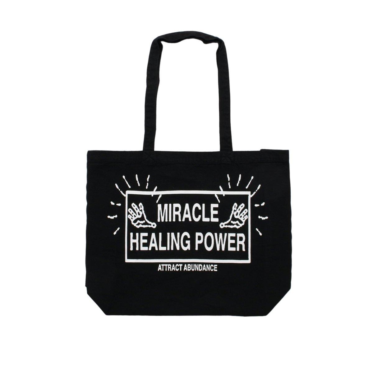 MIRACLE HEALING POWER CANVAS TOTEBAG