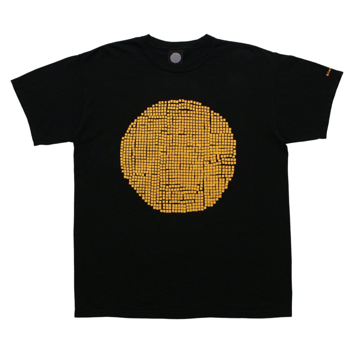 S/S Solstice Clock Tee【BLACK/YELLOW】