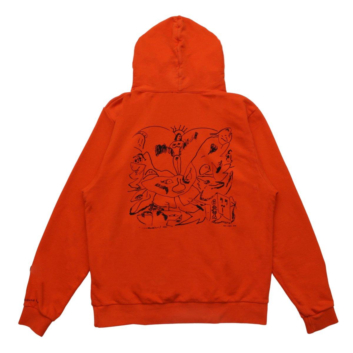 Gathering Hooded Sweatshirt