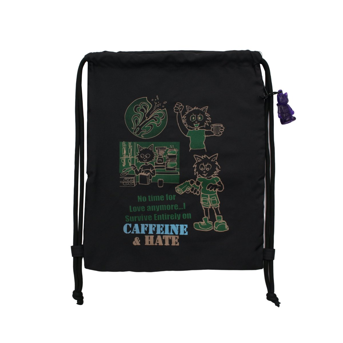 CAFFEINE&HATE BAG