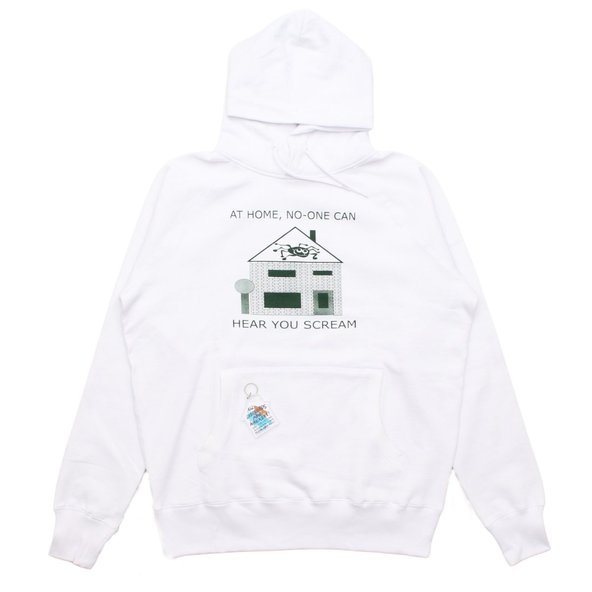 AT HOME HOODY by Leomi Sadler 【WHITE】