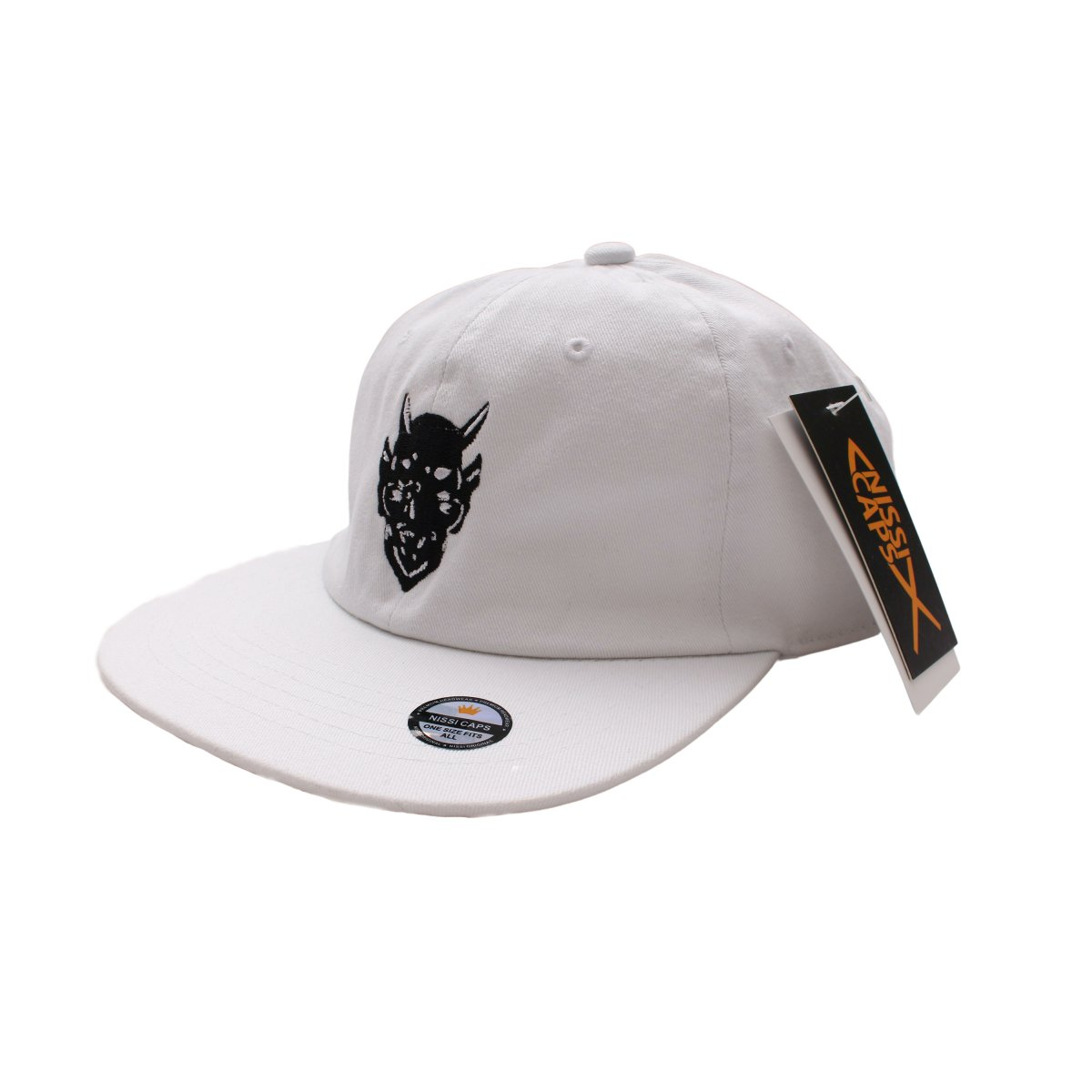A Deal With The Devil Cap【WHITE】