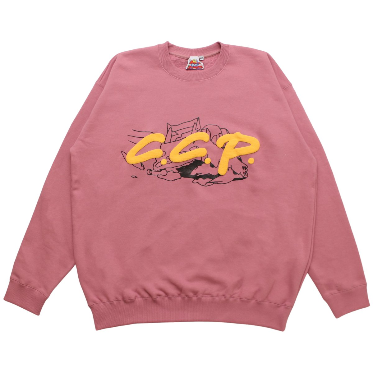 C.C.P.  Flying Logo Sweatshirt【ROSE】