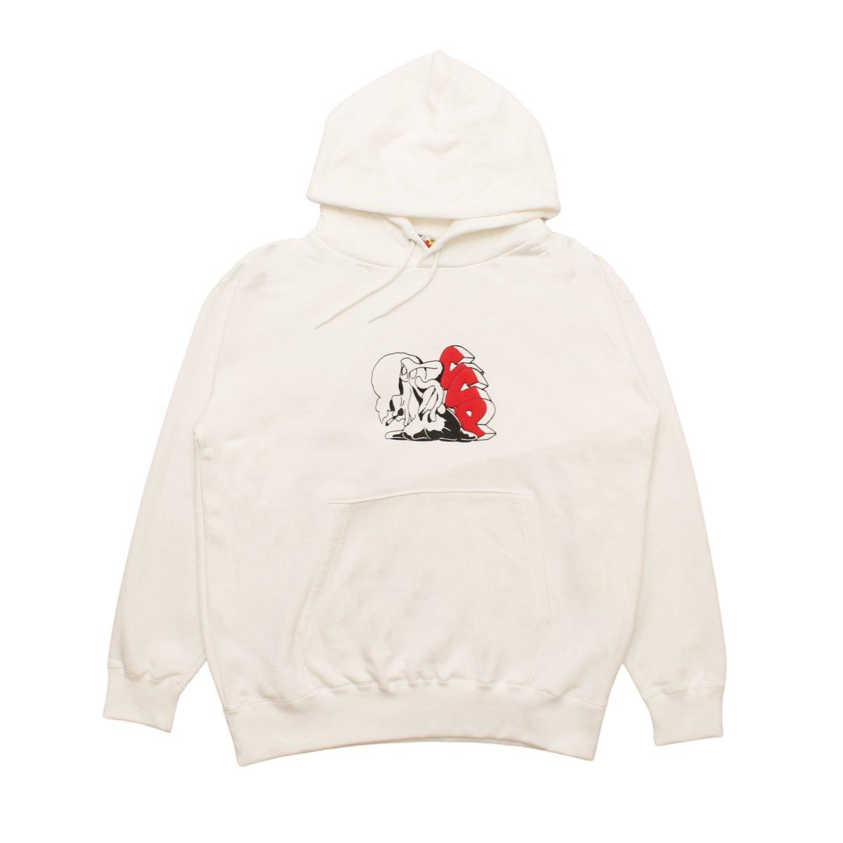 C.C.P.  Marshmallow Hoody【WHITE】