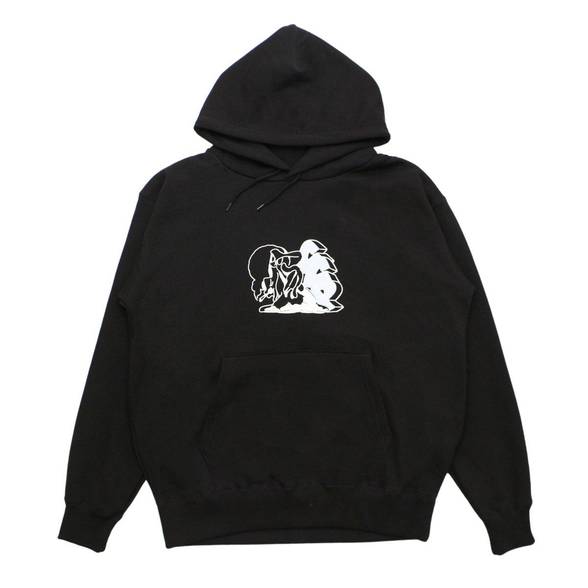 C.C.P.  Marshmallow Hoody【BLACK】