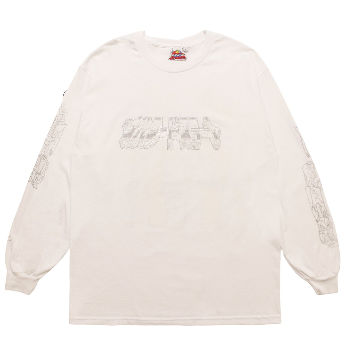 "Ken Russell ""ALTERED STATE"" Long Sleeve【WHITE】"