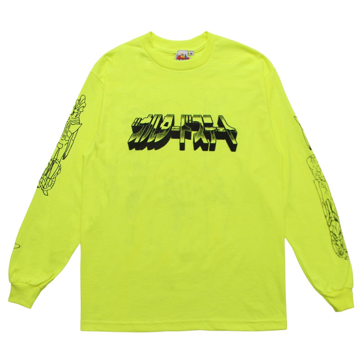 "Ken Russell ""ALTERED STATE"" Long Sleeve【NEON】"