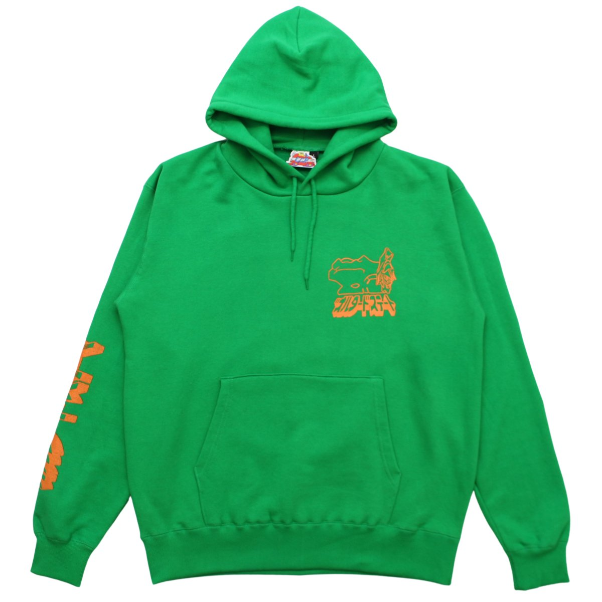 "Ken Russell ""ALTERED STATE"" Hoody【GREEN】"