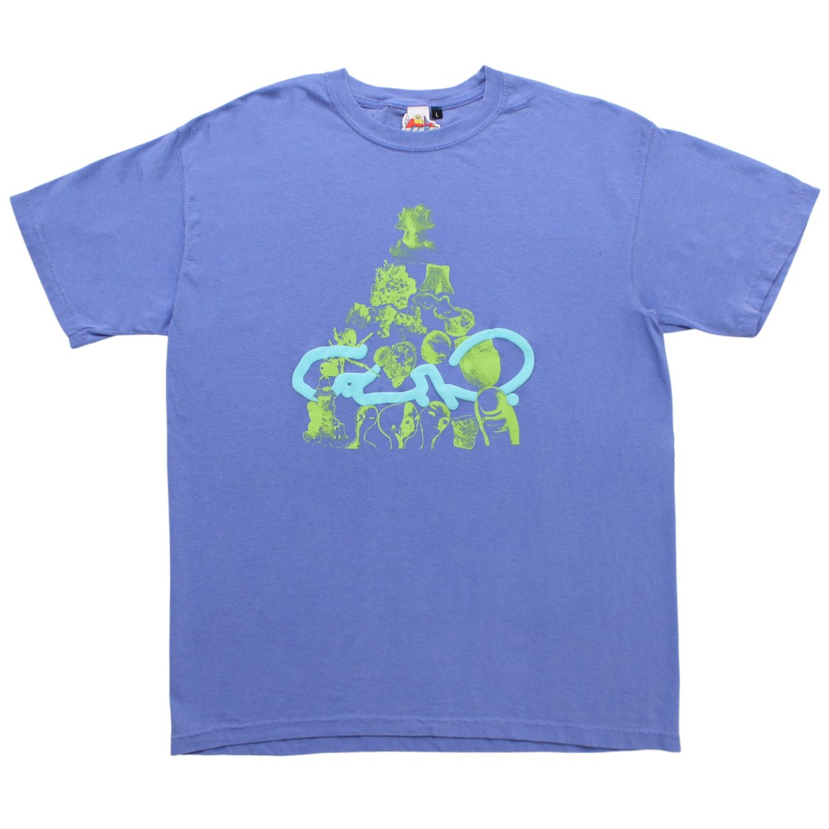 Ed Davis x BIEN T-shirt【FLOW BLUE】