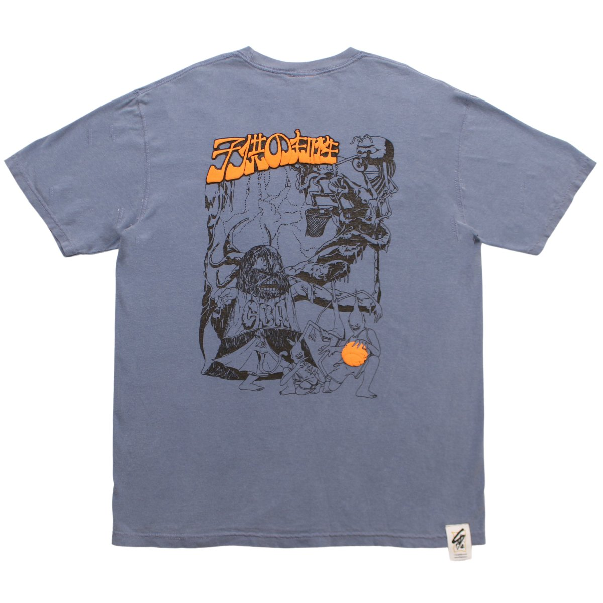 Antoine Leisure C.B.A T-shirt【WASHED BLUE】