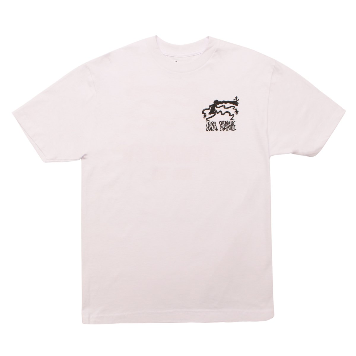 Toby Evans×LOCAL ALLIANCE lllustration Tee #01【WHITE】