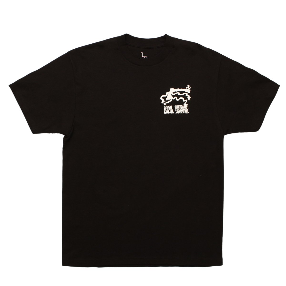 Toby Evans×LOCAL ALLIANCE lllustration Tee #01【BLACK】