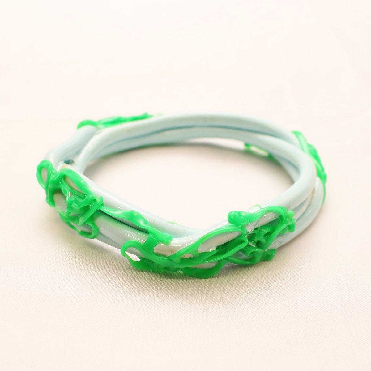 wrist bands【LIGHT BLUE ×GREEN】