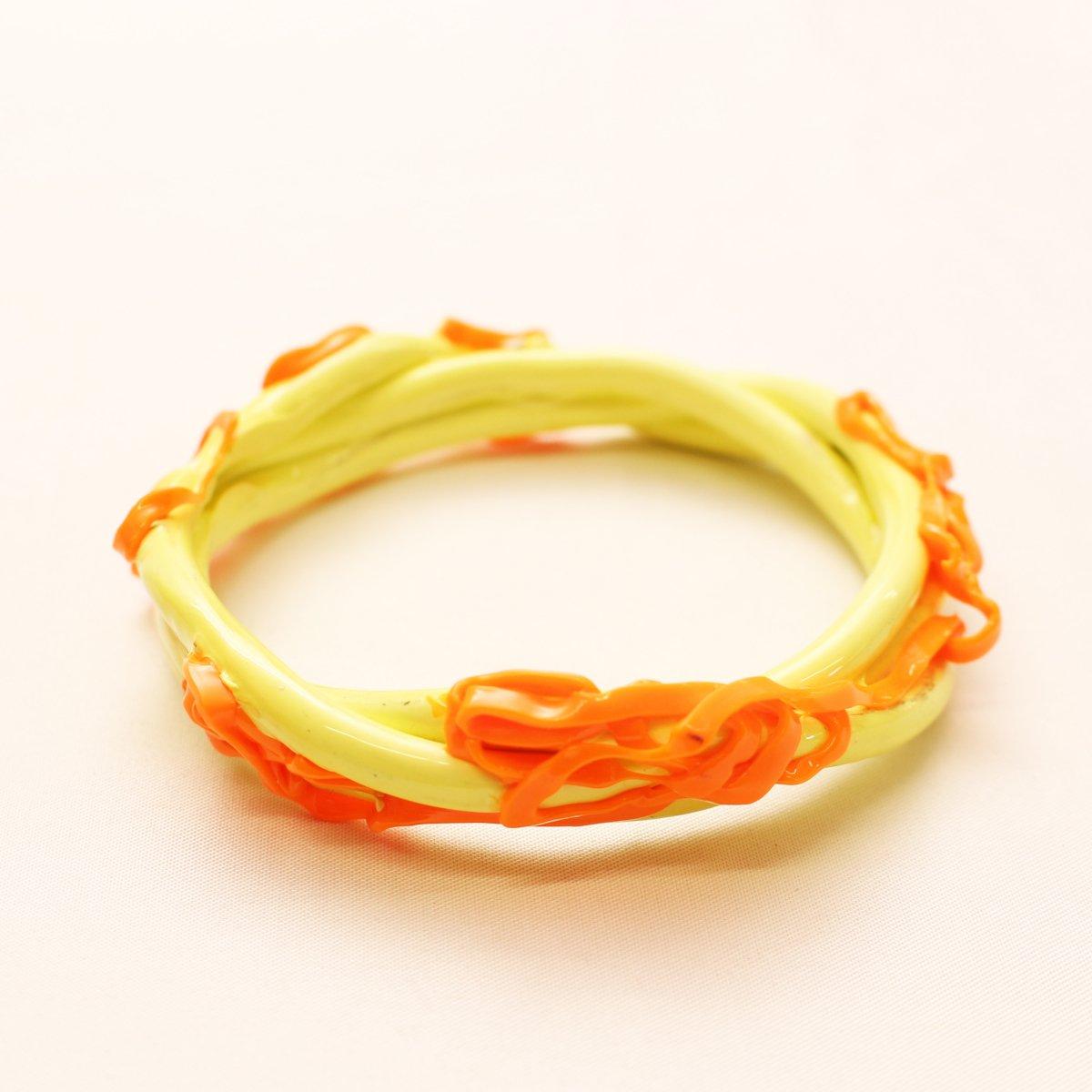 wrist bands【YELLOW×ORANGE】