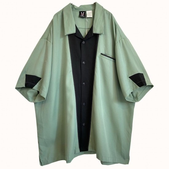 stitch design by color loose shirt