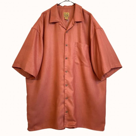 salmon pink over sized shirt