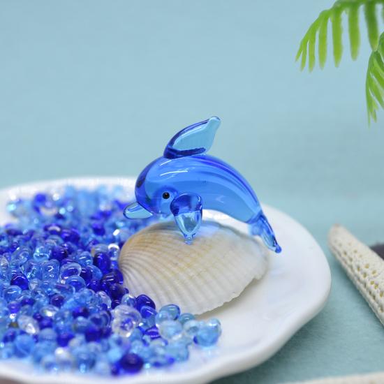 【ガラス細工】波のりイルカS