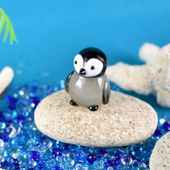 【ガラス細工】エンペラーペンギンヒナ