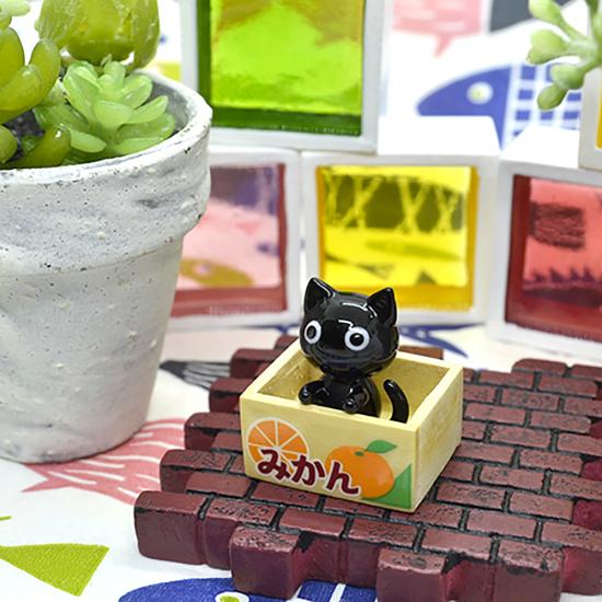 【ガラス細工】クロちゃん拾ってネコ