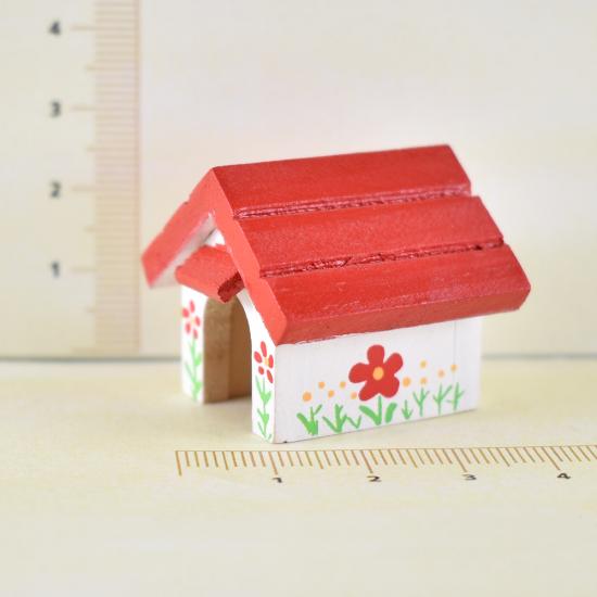 【ミニチュア飾り】犬小屋