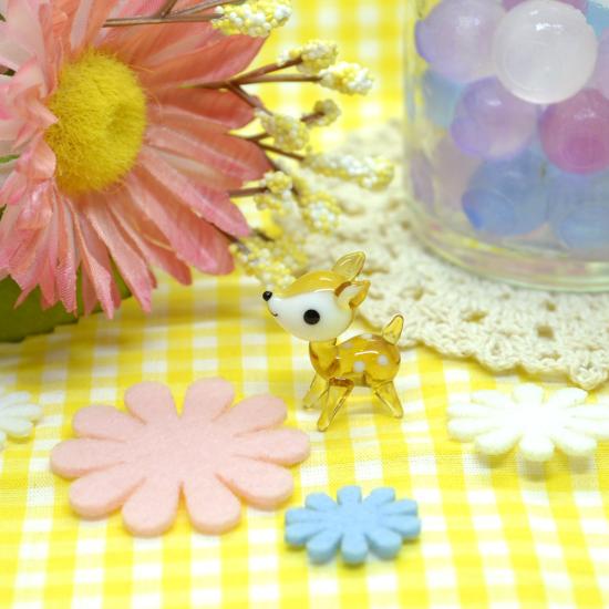 【ガラス細工】バンビちゃん