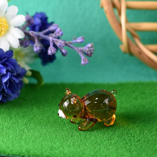 【ガラス細工】節句クマ