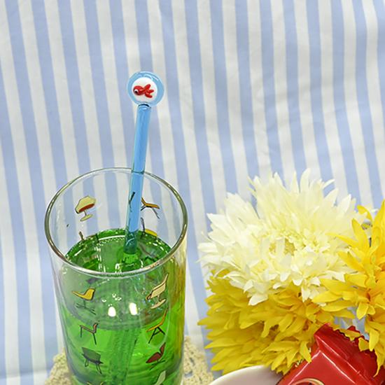 【ガラス細工】金魚すくいマドラー