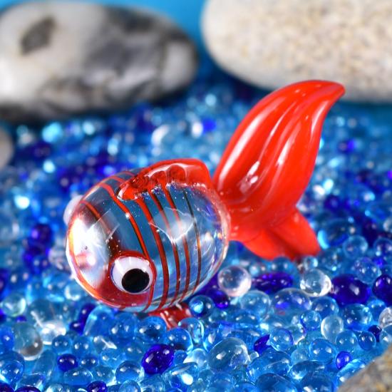 【ガラス細工】アクア金魚