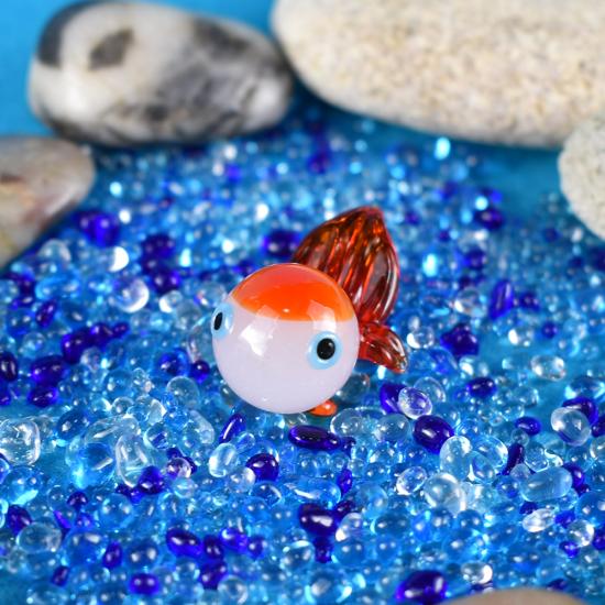 【ガラス細工】おめかし金魚