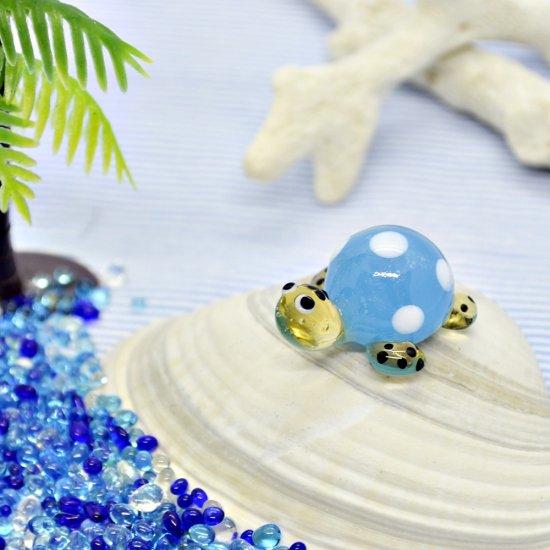 【ガラス細工】海がめ