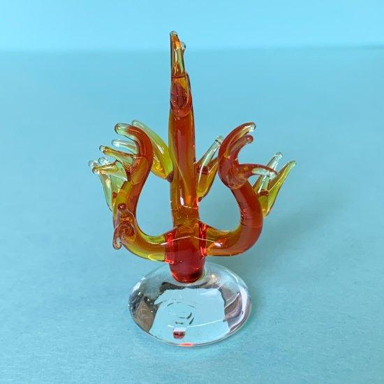 【ガラス細工】赤サンゴ
