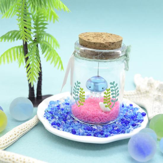 【ガラス細工】プチアクアリウムクラゲ