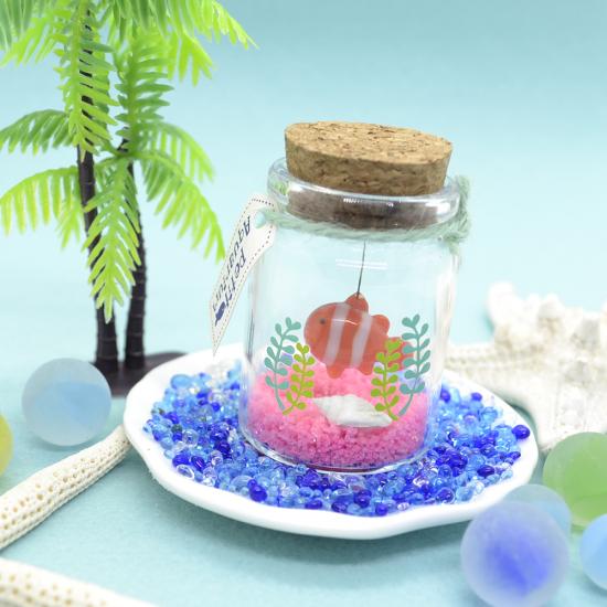 【ガラス細工】プチアクアリウムクマノミ