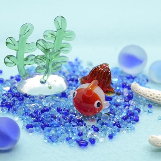 【ガラス細工】ぽっちゃり金魚