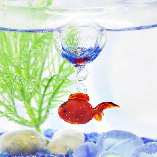 【ガラス細工】N浮玉夏金魚
