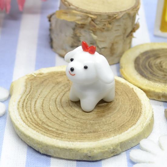 【ガラス細工】マルチーズ