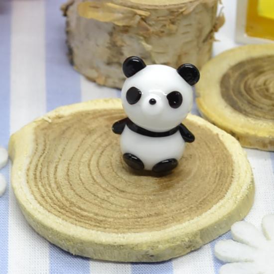 【ガラス細工】パンダさん