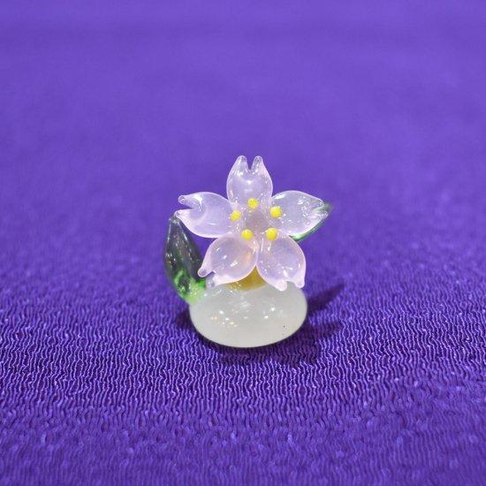 【ガラス細工】桜スタンド