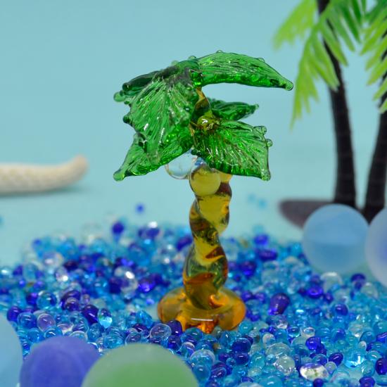 【ガラス細工】ヤシの木(大)