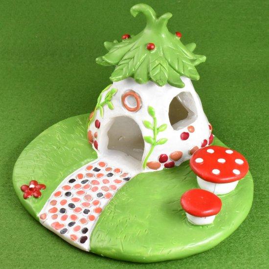 【ミニチュア飾り】森のお家